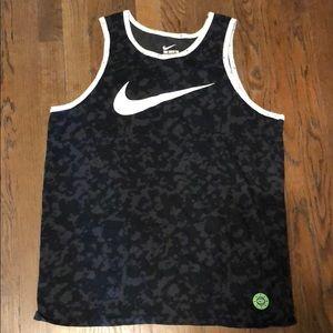 Nike Dri-fit Tank Top Camo Large